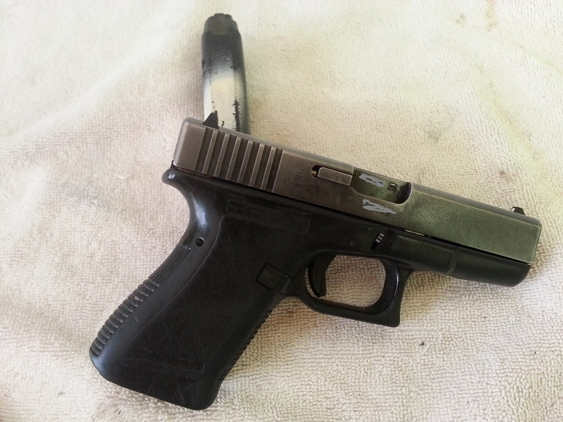 Just coated slide with ceramic engine enamel!! - Glock Accessories & Gear
